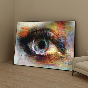 Wholesale painting textures resale online - Abstract Eyes Texture Street Art Pictures Eyes Art Canvas Painting Wall Art Pictures for Living Room Home Decor No Frame