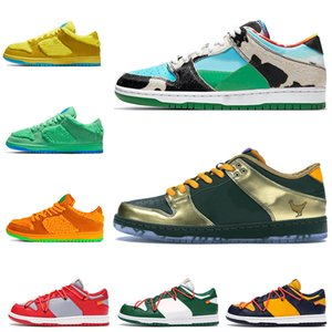 feuille d'orange achat en gros de-news_sitemap_homeNike SB Dunk Low Off White Chunky Dunky Femmes Hommes Chaussures de course Feuille Central Park Ours orange Doernbecher taille baskets formateurs