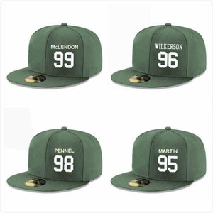 Wholesale customs hats resale online - Custom Baseball Snapback Hats Kyle Phillips Tarell Basham Henry Anderson Steve McLendon Folorunso Fatukasi Quinnen Williams Adjustable Caps