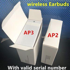 Air Gen 3 AP3 H1 Chip Rename GPS earphones Wireless Charging Bluetooth Headphones Pods 2 AP Pro AP2 Earbuds 2nd Generation