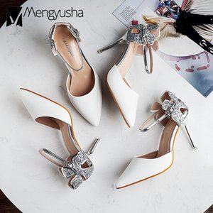 Wholesale sexy flower shoes for sale - Group buy sexy ladies glitter flower high heels sandals pointed toe ankle strap shiny wedding shoes woman stiletto gladiator sandalias
