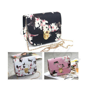 Wholesale butterfly print messenger bag resale online - Butterfly Crossbody Ladies For Women Small Messenger Bag Bags Shoulder Floral Square Flower Handbags Mini Evening Qfjoj