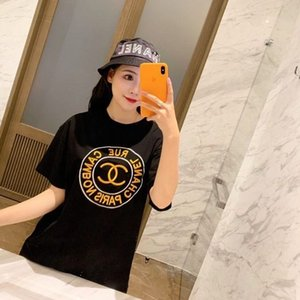 Design 2020 spring and summer new web celebrity with three-dimensional embroidery college style loose thin version joker female tide