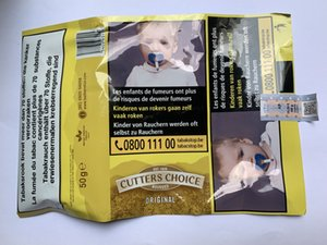 New collection Yellow Packing Cigarette BOX Smoking Tobacco cutters choice packaging Cigarette tobacco 10packs lot plastic boxers tobacco