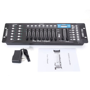 Wholesale controller dj resale online - Metal Automatically dj controller CH DMX512 DJ LED Stage Light Controller AC V For Moving Head Spotlights Disco Stage Control