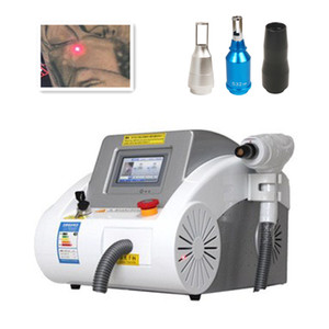 2020 NEW Laser Tattoo Removal Machine 1064nm 532nm 1320nm Q Switch Laser Eyebrows Hair Removal Equipment
