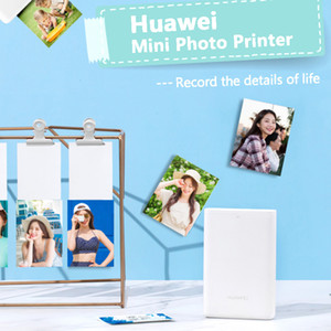 Wholesale best printers resale online - HUAWEI Zink CV80 Pocket Portable AR Photo Printer Blutooth dpi Mini Wireless Phone Photos Printer best seller