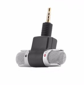 Wholesale mini smartphone speakers for sale - Group buy 100Pcs Mini mm Jack Microphone Stereo Mic For Recording Mobile Phone Studio Interview Smartphone PC computer
