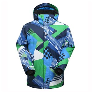 Wholesale gsou snow xl for sale - Group buy GSOU SNOW authentic men s snow hooded Polyester suits windproof warm waterproof single and double skis warm hiking skiing jacket