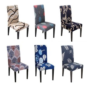 Wholesale dining rooms chairs resale online - Chair Cover Blue Chair Covers Dining Room Leaves Covers For Chairs With Backrest CH37007