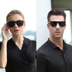 Wholesale polarized night drive glasses resale online - Polarized Glasses Men s Sunglasses Car Drivers Night Vision Goggles Anti Glare Sun glass Women Driving Glasses High Quality