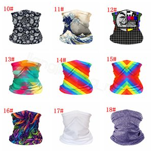 Wholesale neck gaiters for sale - Group buy Face Masks Bandanas solid LGBT printed PM Filter Mask Outdoor Head Scarves Neck Wrap Gaiter Cycling Face Seamless Magic Scarf FFA4349