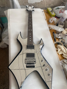 Wholesale guitars made china for sale - Group buy Custom Made Mirror Cracks B rich Revenge Warlock Electric Guitar Secial tremolo China Guitars