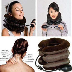 NEW Neck Massager Brace Support Cervical Collar Air Traction Therapy Device 2020 Adjustable Universal Fit For Most