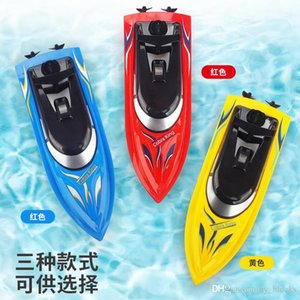 Wholesale toys boat ships resale online - 2 GHz High Speed RC Racing Boat Remote Control Boats Mini Electric Sport Fast Ship Kids Toys Children Gifts