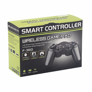 android déposé achat en gros de-news_sitemap_home2 GHz Wireless Controller Jeu Android Gamepad Manette de jeu avec OTG Converter pour Android Table box TV Smart TV Gamepad