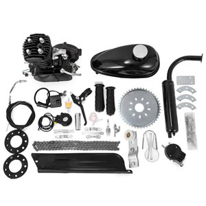 Wholesale motorized bicycles kits resale online - 2020 New in CC Motorized Push Bike Motorised Bicycle Petrol Gas Motor Engine kit Stroke