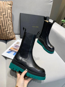 Wholesale hot boos for sale - Group buy Designer hot style high quality black Designer brand boots women s platform boo buckle zipper short ankle boots ladies leather Martin boots