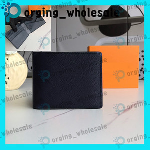 Wholesale wallet women resale online - short wallet card wallet leather wallet for mens wallets multicolor Card holder women purse classic pocket Holders LB109 LB128