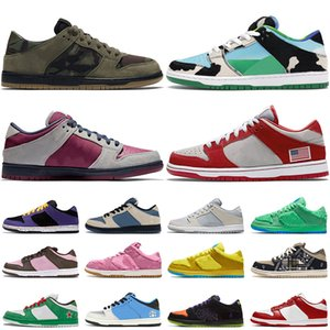 authentische hohe tops großhandel-nike sb dunk off white Top High Qualität Mode Authentische Dunks Trainer Herren Chunky Dunky Skate Dunk SB Niedrige Frauen Skateboard Designer Sneakers Größe
