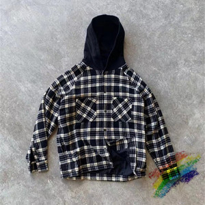 Hooded Shirt Men Women 1 Best Quality Plaid Shirt Thick Autumn Winter T-Shirt