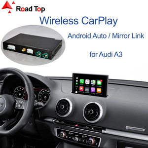 apfel auto spiel großhandel-Wireless Apple Carplay Android Auto Schnittstelle für Audi A3 mit Mirrorlink AirPlay Auto Play Funktionen