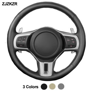 Wholesale mitsubishi lancer evolution resale online - Car Auto Steering Wheel Cover For Mitsubishi Lancer EVO Evolution Outlander Braid on the Steering wheel Funda Volante