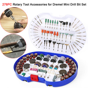 Wholesale tools for dremel for sale - Group buy 276PCS Rotary Tool Accessories for Dremel Mini Drill Bit Set Abrasive Tools Grinding Sanding Polishing Cutting Tool Kits