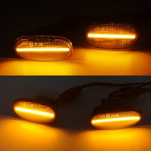 Wholesale honda crx for sale - Group buy 1 Pair Led Dynamic Side Marker Turn Signal Light Sequential Blinker For HONDA Prelude CRX S2000 Integra Fit Del Sol Acura Civic
