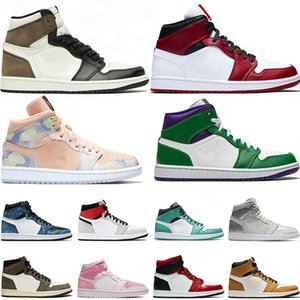 Wholesale volleyball lowest for sale - Group buy 2021 With Sock Jumpman s Womens Mens Basketball Shoes Travis Scotts High Dark Mocha Mid Chicago High Low Trainers Sports Sneakers