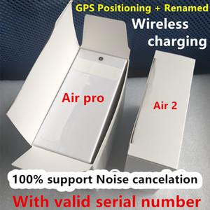 Air Gen 3 AP3 Generation 3 Noise cancelation transparency Rename earphones Wireless Charging Bluetooth Headphones Earbuds 2nd Generation