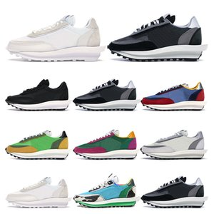 Mens Sneakers White Nylon running shoes Chunky Dunky green gusto pine green varsity bule summit sports trainers outdoor fashion size 36-45