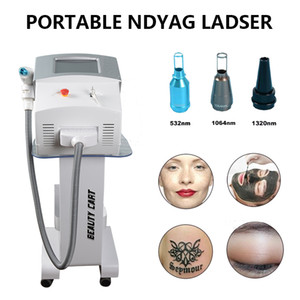 Wholesale tatoo lips for sale - Group buy Q Switched ND YAG tatoo removal laser equipment tattoos laser light lip line removal Tattoo Eyebrow Removing q switched nd yag laser