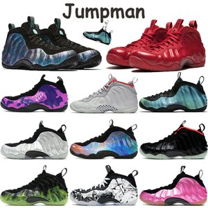 Wholesale silver doctor for sale - Group buy Foam basketball shoes penny hardaway mens sneakers alternate galaxy doctor doom shattered backboard pure platinum men sports trainers
