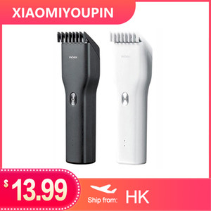 Wholesale hair clipper ceramic resale online - Hot Selling Xiaomi ENCHEN Cordless Electric Hair Trimmer Clipper Ceramic Cutter Fast Charging Cutting Machine Hair Clipper Hairdress