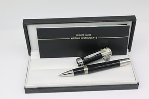 High Quality Mark TW Ice crack Collection Rollerball pen Black Resin and Metal with Serial Number