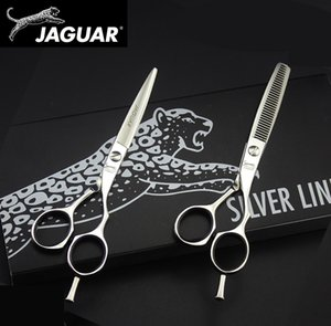 JAGUAR hair scissors professional high quality set 4.5&5.0&5.5&6.0&6.5 inch cutting Thinning hairdressing barber salons shears