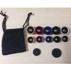 Wholesale lens for canon resale online - Universal Small Size in Telescope Lens Portable Fisheye Wide Angle Macro High Resolution External Smartphones for Samsung HUAWEI iPhone