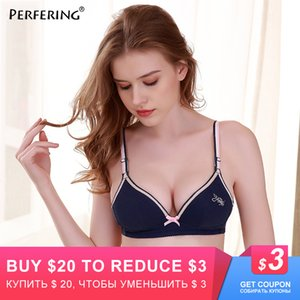 Wholesale push girls breast for sale - Group buy Perfering Push Up Bra For Small Breast Young Girls Adjustable Brassiere Bralette WireFree Active Bra A B Cup Lingerie