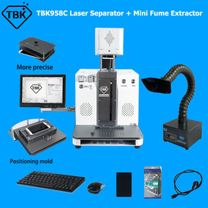 Wholesale laser repair for sale - Group buy TBK958C Back Glass Laser Separator Machine with Mini Fume Extractor For iPhone Pro Max P XR XS LCD Frame Repair