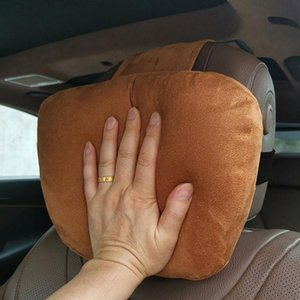Wholesale car sleep pillow for sale - Group buy Useful Auto Safety Car Seat Headrest Head Neck Support Rest Sleep Pillow Soft Cotton Cushion Head Neck Rest Car Seat Cover