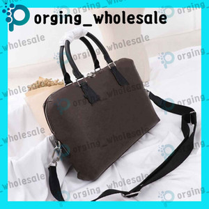 Wholesale laptop neoprene zipper bag for sale - Group buy Briefcase Mens Laptop Computer Bags Mens Messenger Bag Mens Leather Handbag Briefcase Laptop Shoulder Bag Classic Vintage Shoulder Bag
