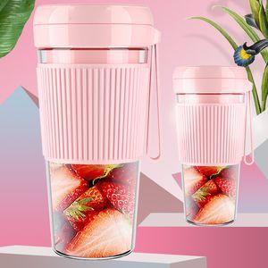 Portable Blender Juicer Cup USB Rechargeable Electric Automatic Smoothie Vegetable Fruit Citrus Orange Juice Maker Cup Mixer Bottle