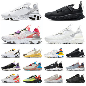 Wholesale running shoes mens resale online - react vision Trainers element n354 Type GTX Travis Scott Cactus Jack Trails mens womens running shoes Saffron white black men sneakers