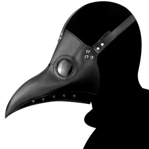 masque peste achat en gros de-news_sitemap_homeMasque de mascarade Respirant Rivet Halloween Costume Masque horrible Cos Peste Beak Doctor Mask Festival Party Supplies cosplay accessoires VT1494