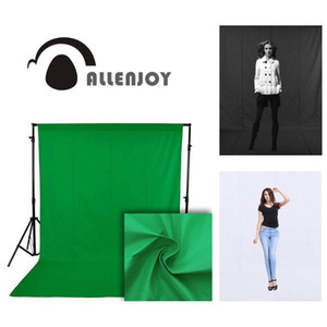 Wholesale green screens resale online - Allenjoy photophone photography backdrops green screen hromakey chromakey video shoot background photo studio non woven fabric