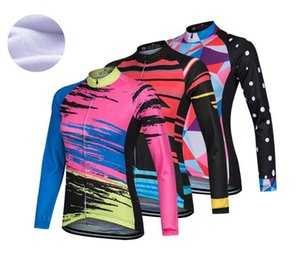 Women Graphics Winter 2021 Team CYCLING jersey ropa ciclismo men Thermal fleece BICYCLE Maillot clothing