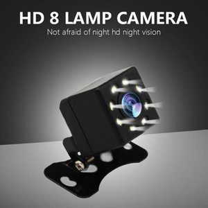 Wholesale universal car parts resale online - Universal Car Reverse Camera Video Recorder LEDs Night Vision Rear View Light Auto Parts Wide View Angle with LED Car Tools