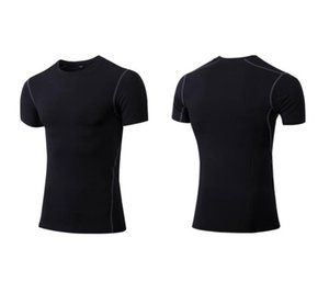 20 21 Men's Casual T-shirt Compression Fitness Tights Blank Tops breathable shirts