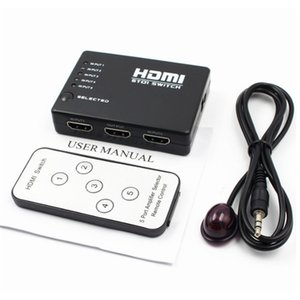puerto de entrada hdmi al por mayor-1pc Port P Switcher para Xbox PS3 PS4 Android HDTV Entrada Salida K Splitter Cambio de puerto
